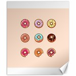 Donuts Canvas 8  x 10  10.02 x8  Canvas - 1