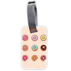Donuts Luggage Tag (one Side)