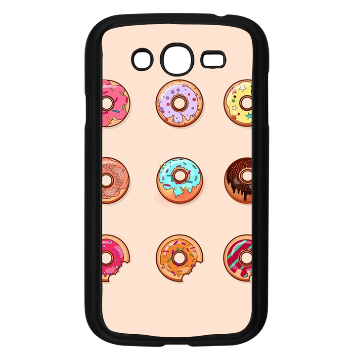 Donuts Samsung Galaxy Grand DUOS I9082 Case (Black)