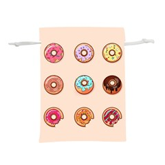 Donuts Lightweight Drawstring Pouch (m)