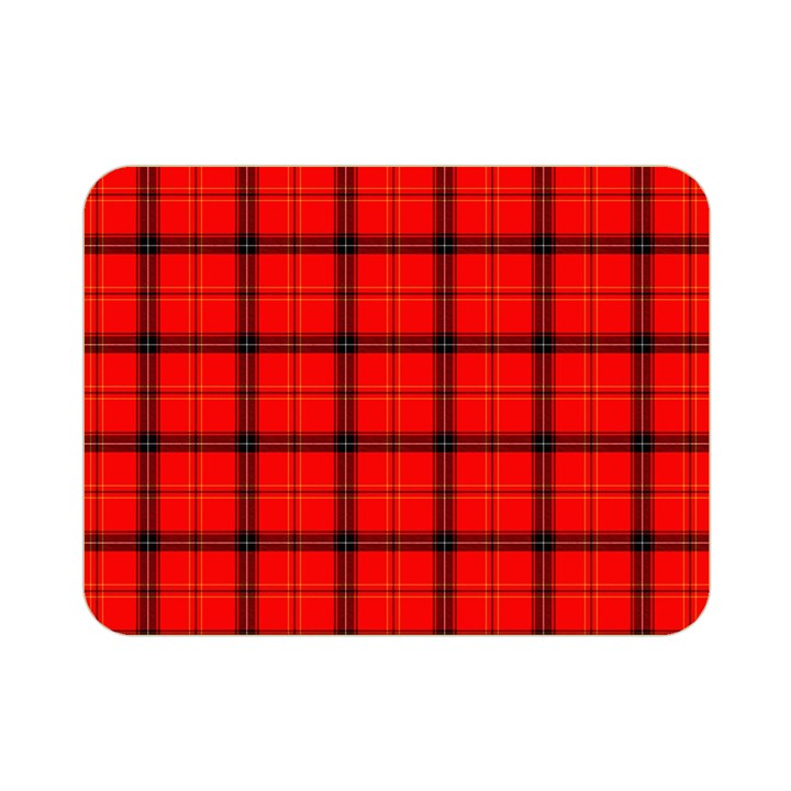 Red buffalo plaid Double Sided Flano Blanket (Mini)