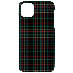 Plaid Pattern Iphone 11 Pro Max Black Uv Print Case