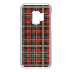 Vintage Buffalo Plaid Samsung Galaxy S9 Seamless Case(white) by goljakoff