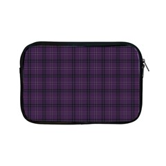 Purple Buffalo Plaid Apple Ipad Mini Zipper Cases by goljakoff