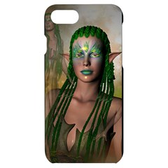 Beautiful Fairy In The Night Iphone 7/8 Black Uv Print Case by FantasyWorld7