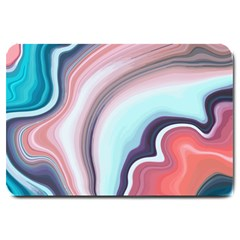 Agate Slice Large Doormat  by goljakoff