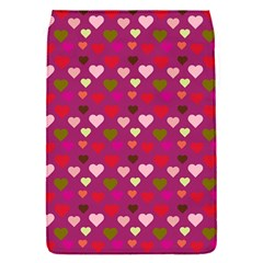 Hearts Seamlessp Attern Background Cute Love Children Symbol Kiddies Removable Flap Cover (s)