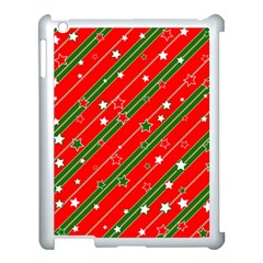 Christmas Paper Star Texture Apple Ipad 3/4 Case (white) by Vaneshart