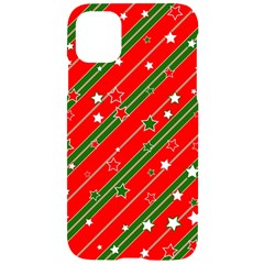 Christmas Paper Star Texture Iphone 11 Black Uv Print Case