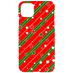 Christmas Paper Star Texture Iphone 11 Pro Max Black Uv Print Case