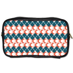 Abstract Seamless Pattern Graphic Lines Vintage Background Grunge Diamond Square Toiletries Bag (one Side)