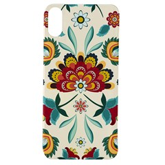 Baatik Print  Apple Iphone Xs Tpu Uv Case by designsbymallika