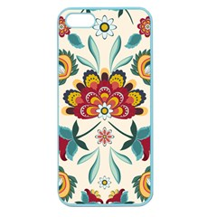 Baatik Print  Apple Seamless Iphone 5 Case (color) by designsbymallika