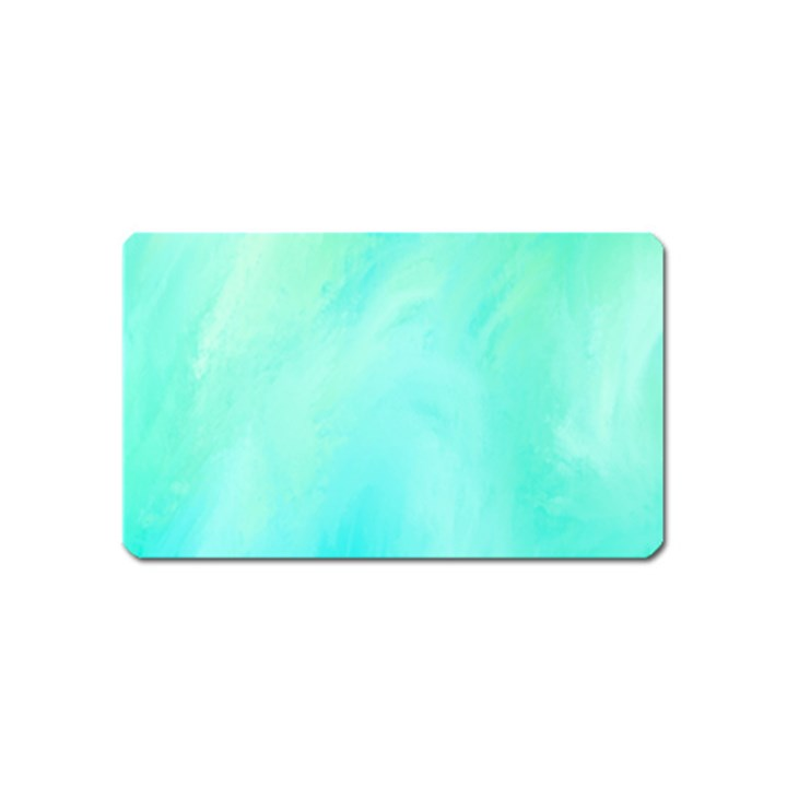 Blue Green Shades Magnet (Name Card)