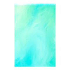 Blue Green Shades Shower Curtain 48  X 72  (small)