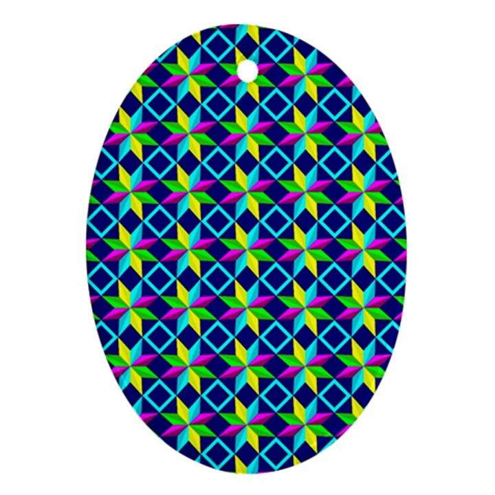 Ab 98 Oval Ornament (Two Sides)