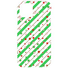 Christmas Paper Stars Pattern Texture Background Colorful Colors Seamless Iphone 11 Pro Black Uv Print Case