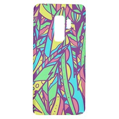 Feathers Pattern Samsung Galaxy S9 Plus Tpu Uv Case by Sobalvarro
