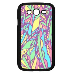 Feathers Pattern Samsung Galaxy Grand Duos I9082 Case (black) by Sobalvarro