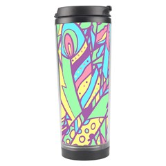 Feathers Pattern Travel Tumbler by Sobalvarro