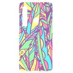 Feathers Pattern Samsung A9 Black Uv Print Case by Sobalvarro