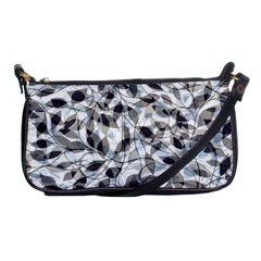 Leaves Pattern Colors Nature Design Shoulder Clutch Bag by Vaneshart