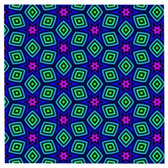 Seamless Pattern Pattern Purple Stars Wooden Puzzle Square