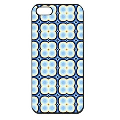 Pattern Design Art Scrapbooking Geometric Cubes Iphone 5 Seamless Case (black)