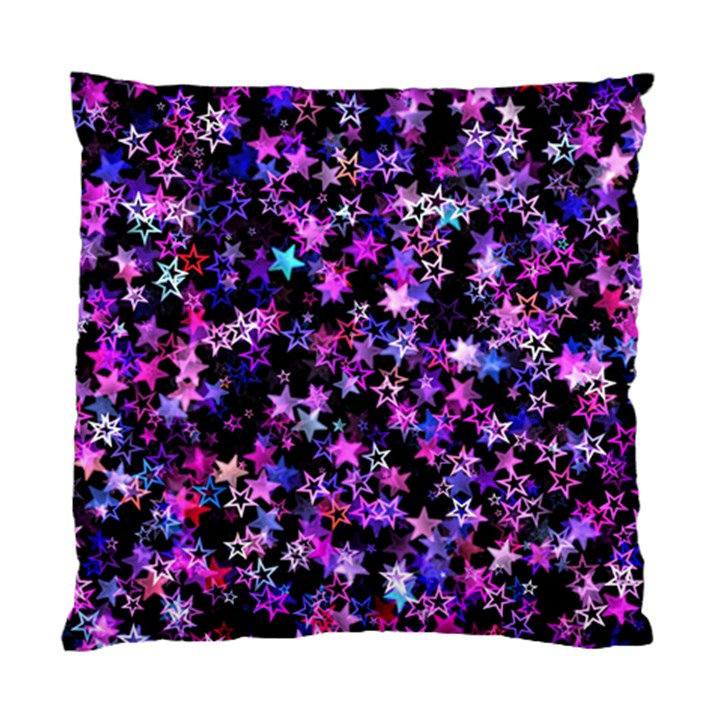 Christmas Paper Star Texture Standard Cushion Case (Two Sides)