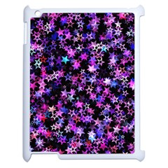 Christmas Paper Star Texture Apple Ipad 2 Case (white)