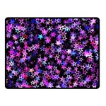 Christmas Paper Star Texture Double Sided Fleece Blanket (Small)  45 x34  Blanket Front