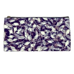 Leaves Pattern Colors Nature Design Pencil Cases by Vaneshart