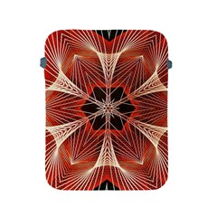 Star Pattern Red Abstract Apple Ipad 2/3/4 Protective Soft Cases