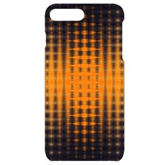 Pattern Lines Sections Yellow Straw Mauve Iphone 7/8 Plus Black Uv Print Case