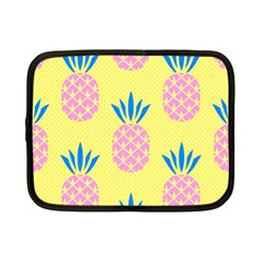 Summer Pineapple Seamless Pattern Netbook Case (small) by Sobalvarro