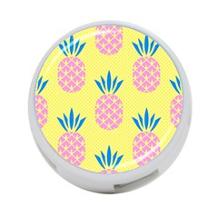 Summer Pineapple Seamless Pattern 4-port Usb Hub (two Sides) by Sobalvarro