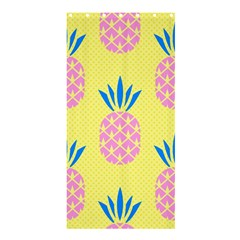 Summer Pineapple Seamless Pattern Shower Curtain 36  X 72  (stall)  by Sobalvarro