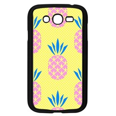 Summer Pineapple Seamless Pattern Samsung Galaxy Grand Duos I9082 Case (black) by Sobalvarro