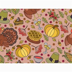 Thanksgiving Pattern Canvas 12  X 16  by Sobalvarro