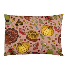 Thanksgiving Pattern Pillow Case by Sobalvarro