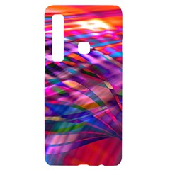 Wave Lines Pattern Abstract Samsung A9 Black Uv Print Case by Alisyart