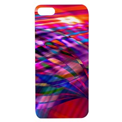 Wave Lines Pattern Abstract Apple Iphone 7/8 Tpu Uv Case