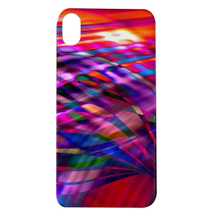 Wave Lines Pattern Abstract Apple iPhone XR TPU UV Case