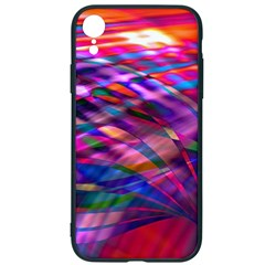 Wave Lines Pattern Abstract Iphone Xr Soft Bumper Uv Case