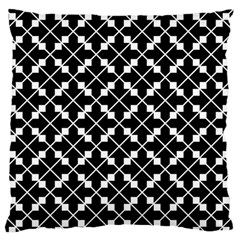 Abstract Background Arrow Large Flano Cushion Case (one Side)