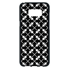 Abstract Background Arrow Samsung Galaxy S8 Plus Black Seamless Case