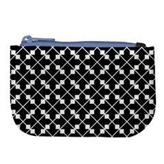 Abstract Background Arrow Large Coin Purse