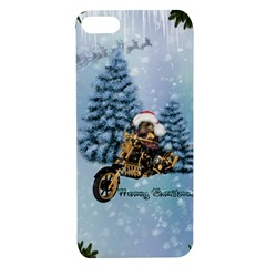 Merry Christmas, Funny Mouse On A Motorcycle With Christmas Hat Apple Iphone 7/8 Tpu Uv Case