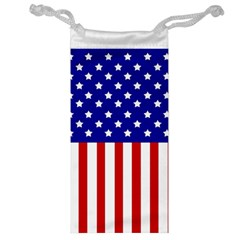 American Stars And Stripes Jewelry Bag by goljakoff