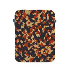 Aged Red, White, And Blue Camo Apple Ipad 2/3/4 Protective Soft Cases by McCallaCoultureArmyShop